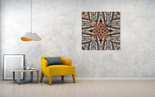 Column Of Pillars - Art Print - Design Forms Of Art