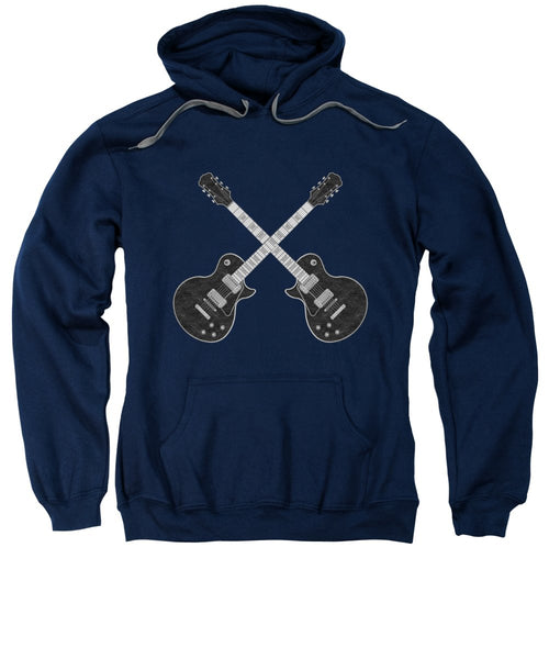 Crossroads Of Guitars  - Sweatshirt - Design Forms Of Art