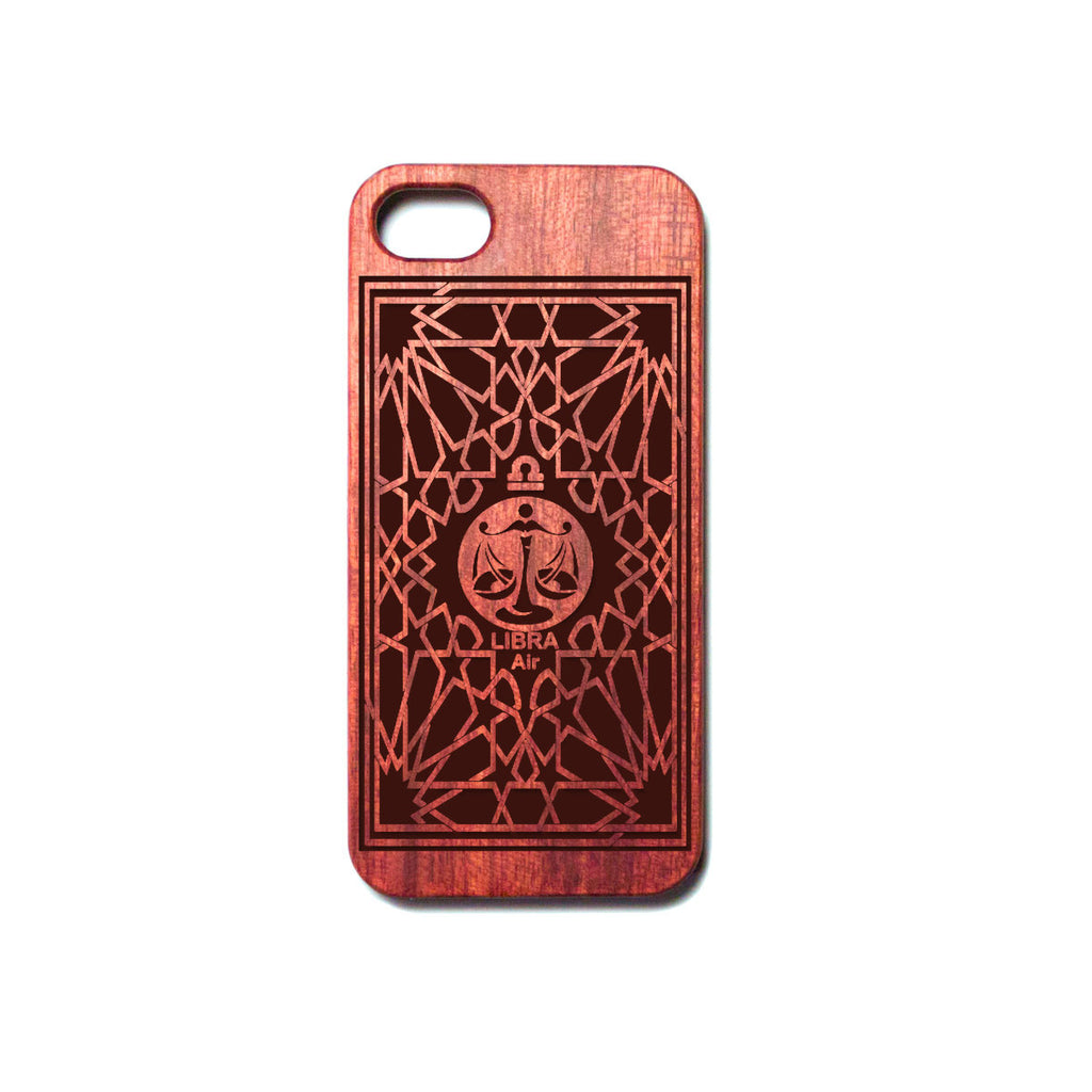 Zodiac LIBRA - Rosewood iPhone Case - Design Forms Of Art