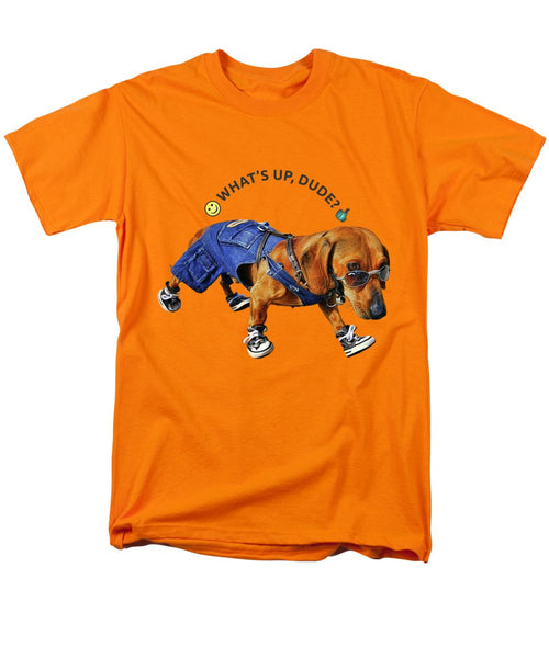 Dog Dude - Men's T-Shirt  (Regular Fit) - Design Forms Of Art