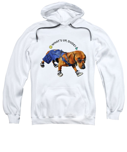 Dog Dude - Sweatshirt - Design Forms Of Art