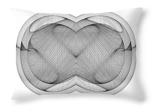 Embryo Heart - Throw Pillow - Design Forms Of Art