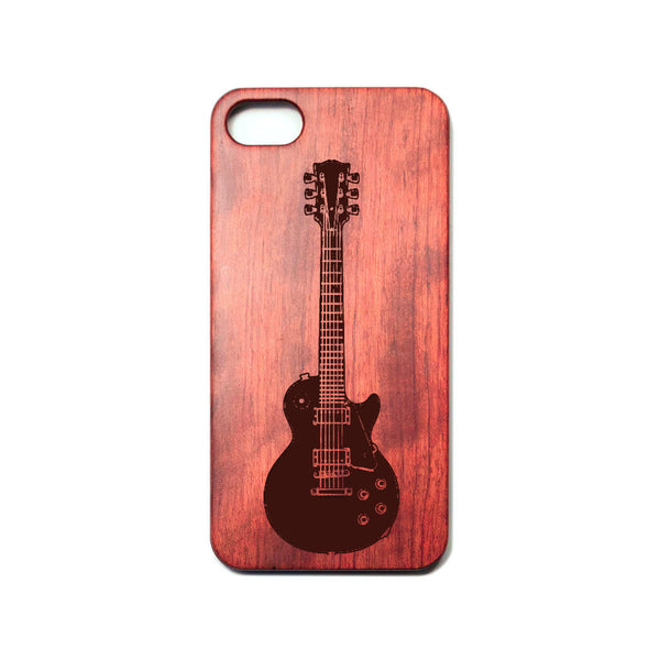 Electric Guitar - Rosewood iPhone Case - Design Forms Of Art
