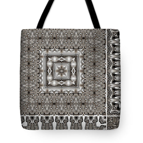 Fourgraving Drawingness - Tote Bag - Design Forms Of Art