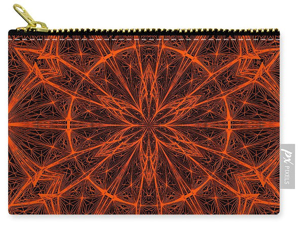 Fractal Fireworks  - Carry-All Pouch - Design Forms Of Art