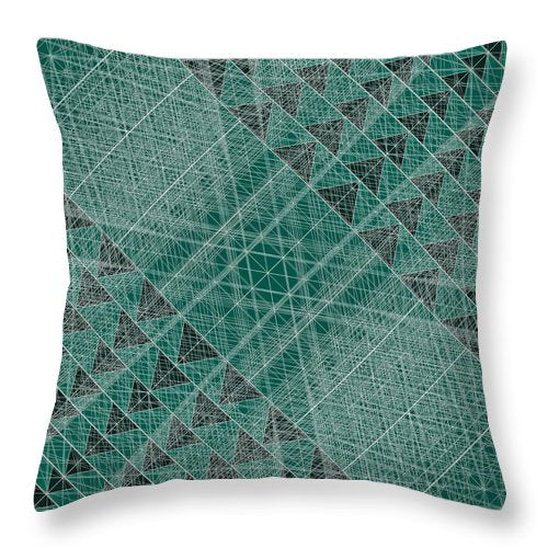 Netwireblast - Throw Pillow - Design Forms Of Art