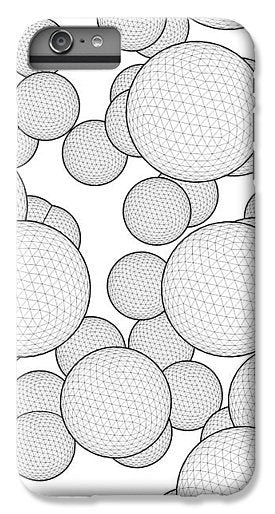 Geometric Group Of Bubbles Sphere - Phone Case - Design Forms Of Art
