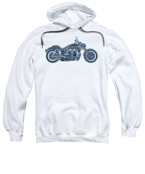 Motorcycle - Sweatshirt - Design Forms Of Art