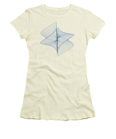 Helix Sail - Women's T-Shirt (Athletic Fit) - Design Forms Of Art