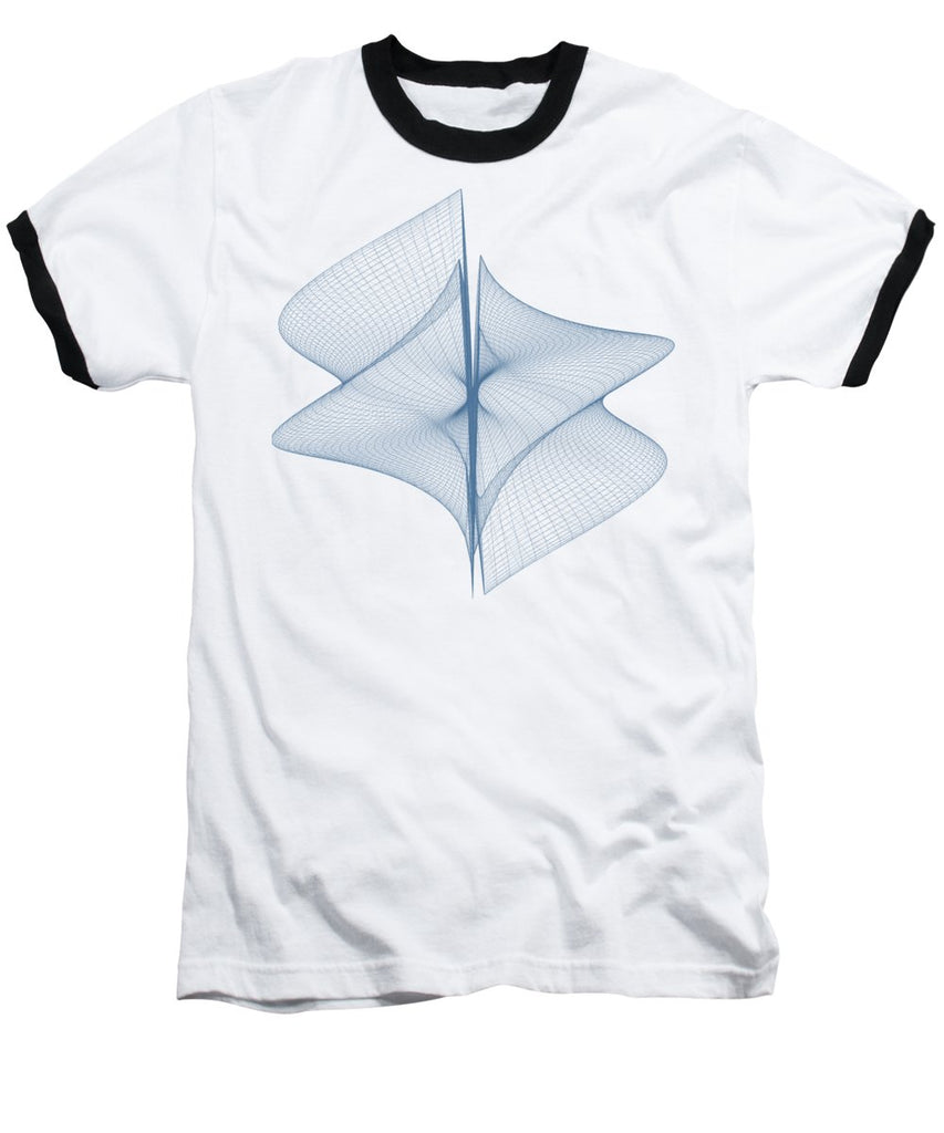 Helix Sail - Baseball T-Shirt - Design Forms Of Art