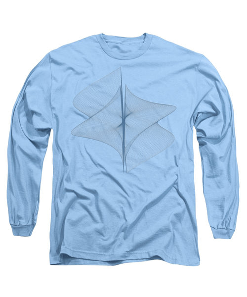 Helix Sail - Long Sleeve T-Shirt - Design Forms Of Art