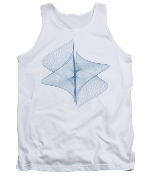 Helix Sail - Tank Top - Design Forms Of Art