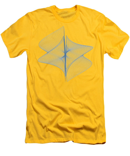 Helix Sail - Men's T-Shirt (Athletic Fit) - Design Forms Of Art