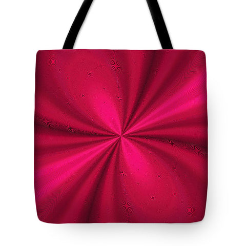 Hypnoredmetallic Swirl  - Tote Bag - Design Forms Of Art