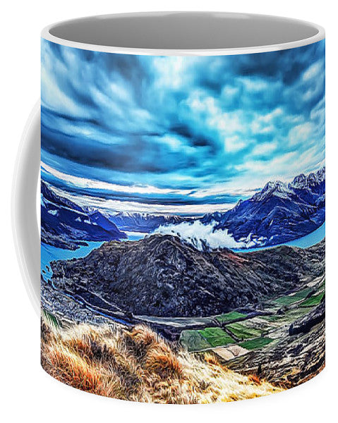 Idyllic Mystery - Mug - Design Forms Of Art