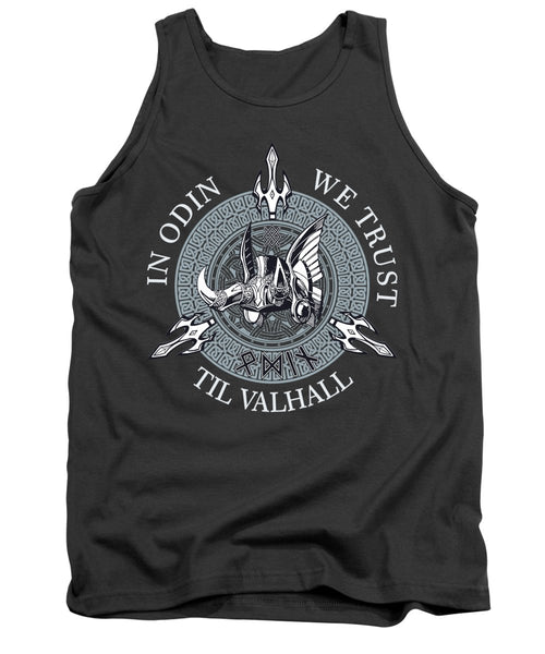 In Odin We Trust - Tank Top - Design Forms Of Art