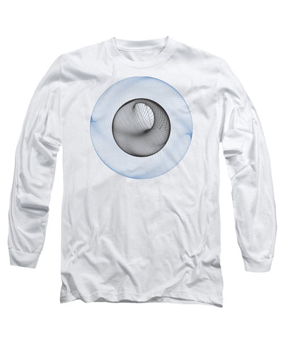 Iris Eye - Long Sleeve T-Shirt - Design Forms Of Art