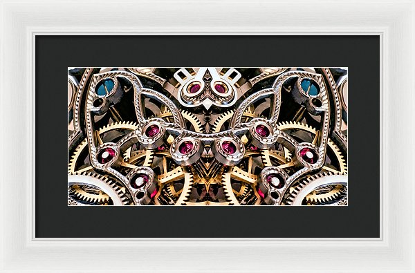 Find The Owl In Mechanismadness - Framed Print - Design Forms Of Art
