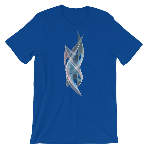 Sharply Shapeallization - Short-Sleeve Unisex / Men T-Shirt - Design Forms Of Art
