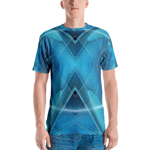 Blueallization - Sew Men's T-Shirt - Design Forms Of Art
