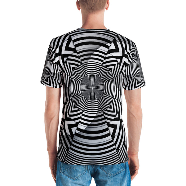 Hypno Cross - Sew Men's T-Shirt - Design Forms Of Art