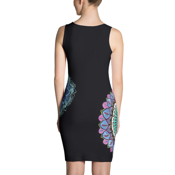 Surrounded - Sublimation Cut & Sew Dress - Design Forms Of Art