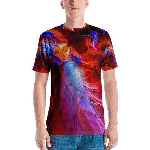 Explosion Of Colors - Sew Men's T-shirt - Design Forms Of Art