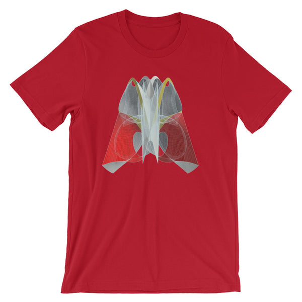 Helmet Shapeallization - Short-Sleeve Unisex / Men T-Shirt - Design Forms Of Art