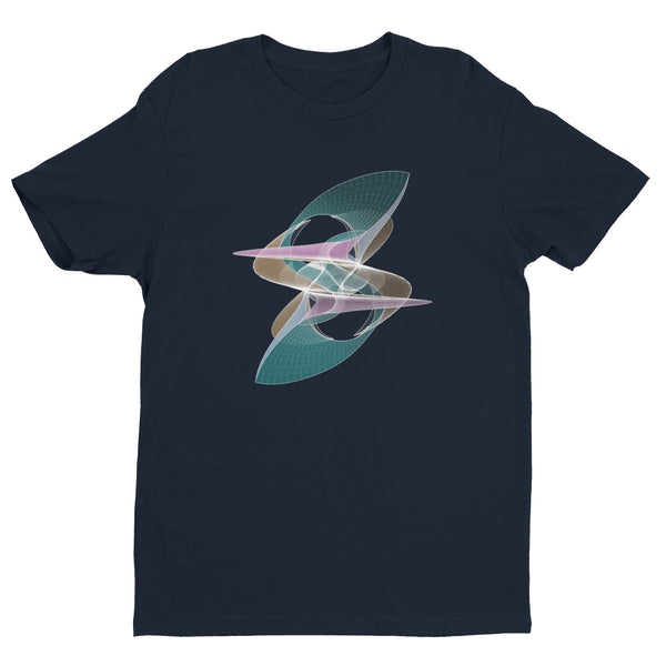 Eight Shapeallization - Short Sleeve T-shirt - Design Forms Of Art