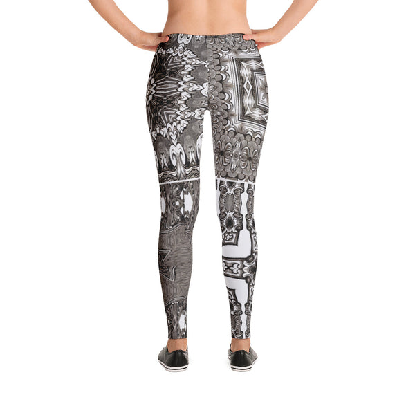 FourgravingDrawingness - Leggings - Design Forms Of Art