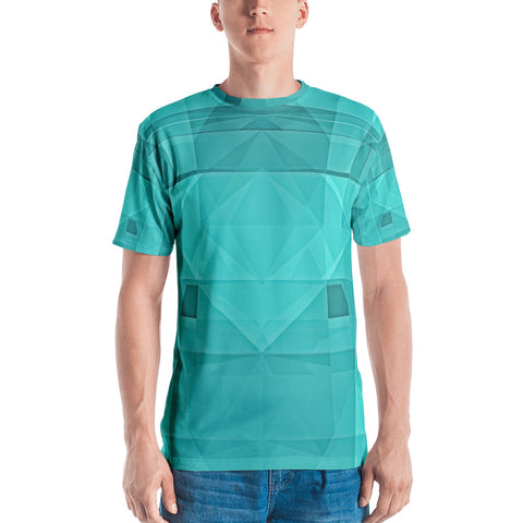 Green Crystallization - Sew Men's T-Shirt