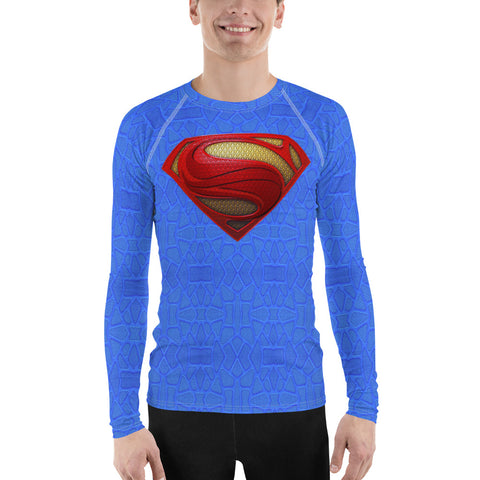 All-Over - Superman - Men's Rash Guard T-Shirt - Design Forms Of Art