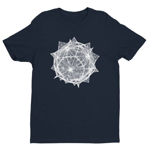 Diamond Crystal - Short Sleeve T-shirt - Design Forms Of Art