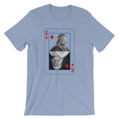 Darth Vader - King of Diamonds - Short-Sleeve Unisex T-Shirt - Design Forms Of Art