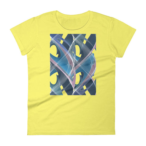 Tide Shapeallization - Women's short sleeve t-shirt - Design Forms Of Art