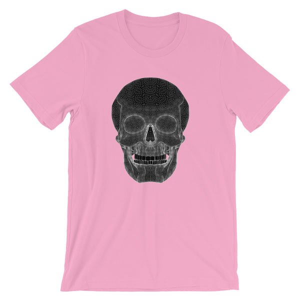 Skull - Short-Sleeve Unisex T-Shirt - Design Forms Of Art