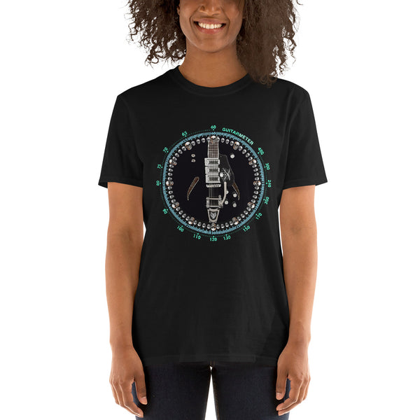 Gretsch Electric Guitar • Short-Sleeve Unisex T-Shirt - Design Forms Of Art