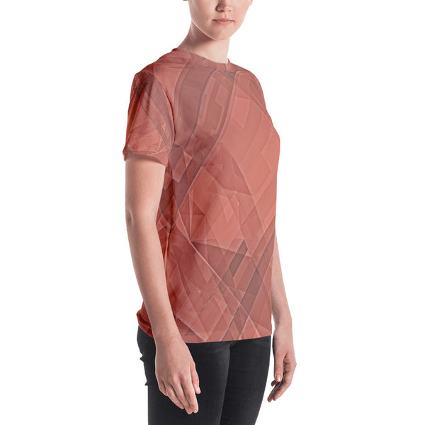 Bloody Crystallization - Sew Women's T-shirt - Design Forms Of Art