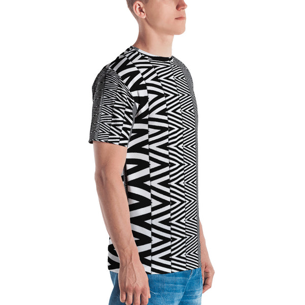 Zig-Zag - Sew Men's T-shirt - Design Forms Of Art