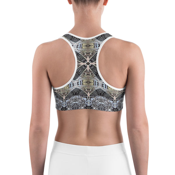 Engravingdness - Sports bra - Design Forms Of Art