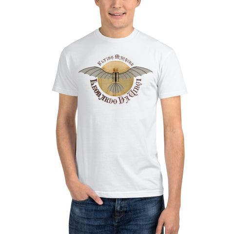 Leonardo Da Vinci Glider • Sustainable T-Shirt - Design Forms Of Art