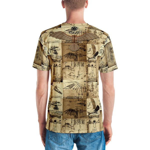 Leonardo Da Vinci - Men's T-shirt - Design Forms Of Art