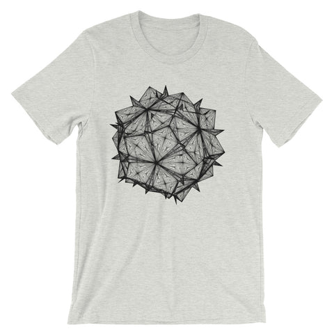Diamond Crystal - Short-Sleeve Unisex / Men T-Shirt - Design Forms Of Art