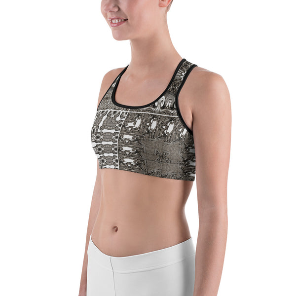 Fourgraving Drawingness - Sports bra - Design Forms Of Art