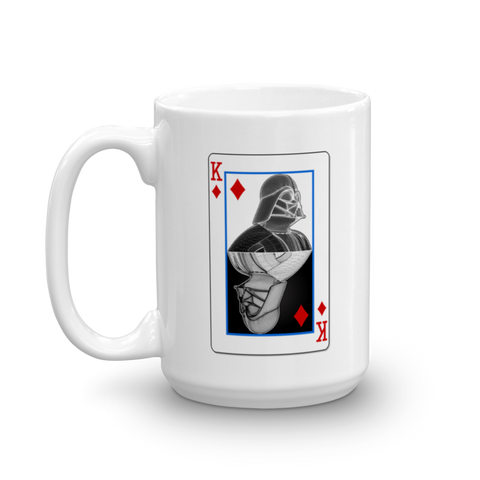Darth Vader - King of Diamonds - Yin-Yang Mug - Design Forms Of Art