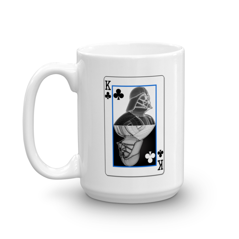 Darth Vader - King of Clubs - Yin-Yang Mug - Design Forms Of Art