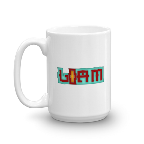 LIAM Mug - Design Forms Of Art