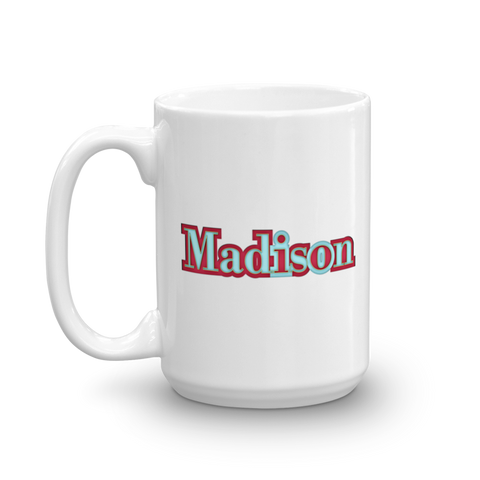 MADISON Mug - Design Forms Of Art