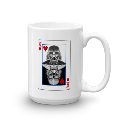 Darth Vader - King of Hearts - Yin-Yang Mug - Design Forms Of Art