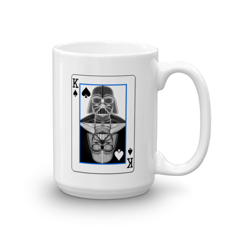 Darth Vader - King of Spades - Yin-Yang Mug - Design Forms Of Art